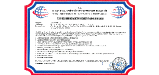 Dangerous Goods Inspection Services Certificate